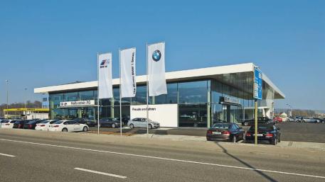 Neubau BMW Hollenstein