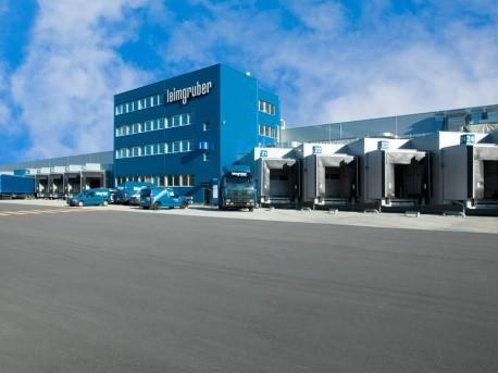 Neubau PLP Leimgruber Logistik