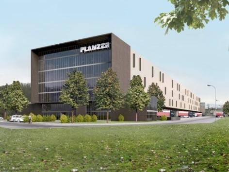 Neubau Planzer Logistikzentrum