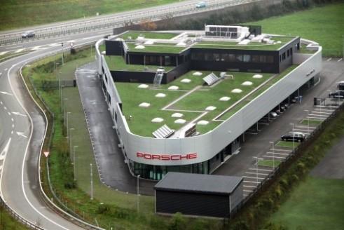 Neubau Porsche Risch